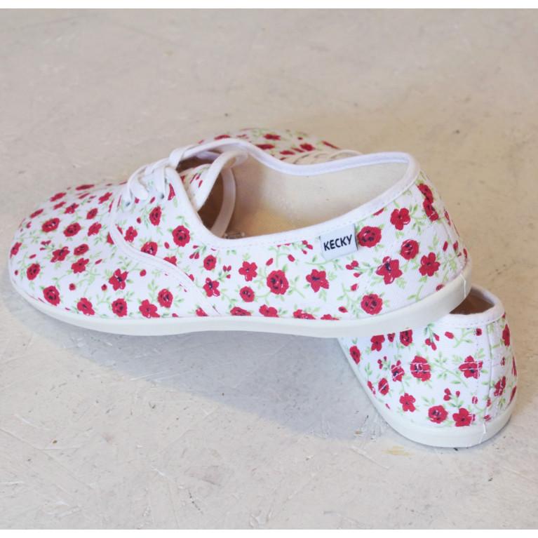 Barefoot Basic červené květy