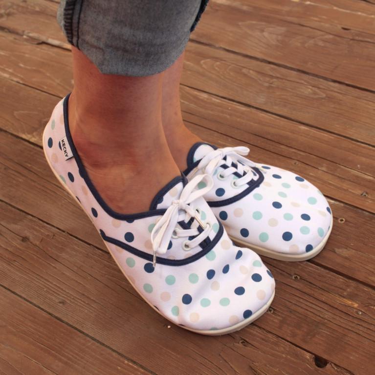 Barefoot Basic modrý puntík