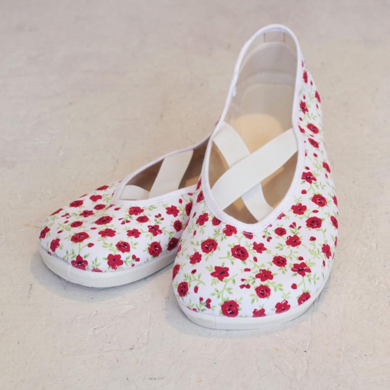 Barefoot X červené květy