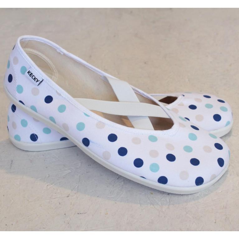 Barefoot X modrý puntík
