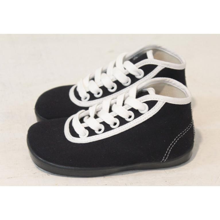 Dětské kotníčkové  tenisky - černé