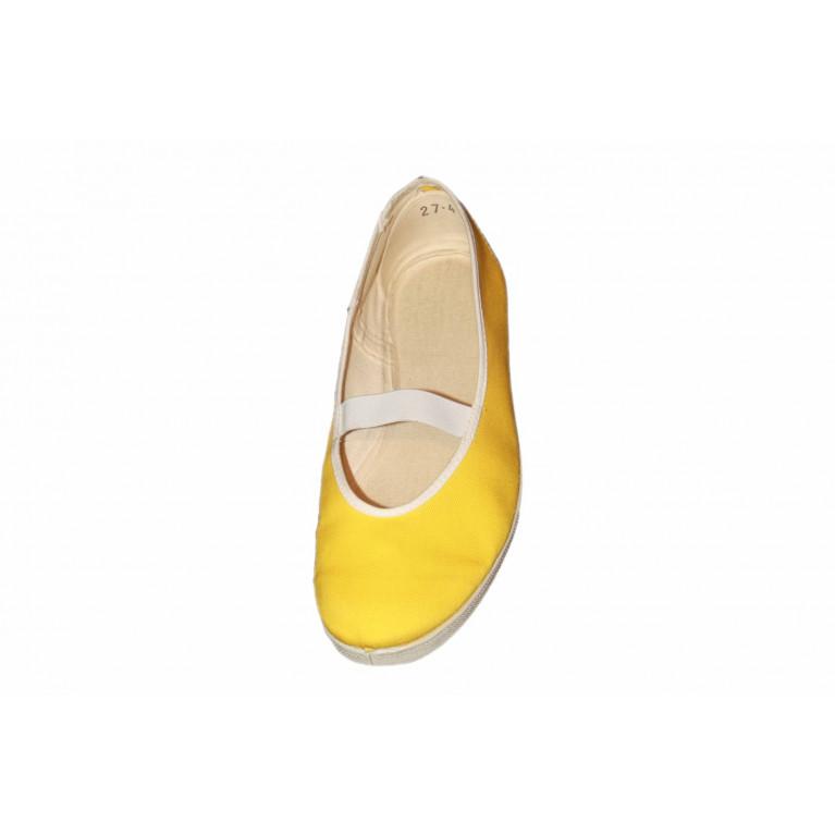 Baleríny Slim cvičky - žlutá